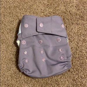 Light purple OS Grovia hybrid diaper shell
